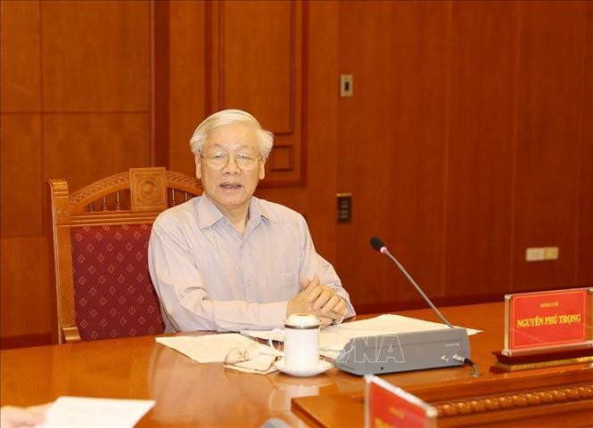 Tổng Bí thư, Chủ tịch nước chủ trì họp Thường trực Ban Chỉ đạo Trung ương về phòng, chống tham nhũng - ảnh 3