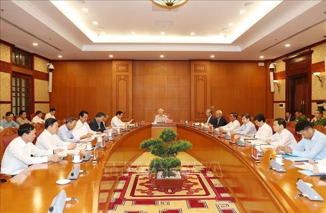 Tổng Bí thư, Chủ tịch nước chủ trì họp Thường trực Ban Chỉ đạo Trung ương về phòng, chống tham nhũng - ảnh 4