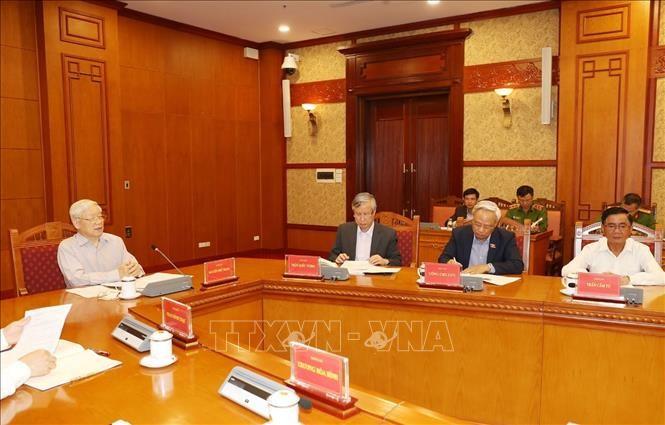 Tổng Bí thư, Chủ tịch nước chủ trì họp Thường trực Ban Chỉ đạo Trung ương về phòng, chống tham nhũng - ảnh 5