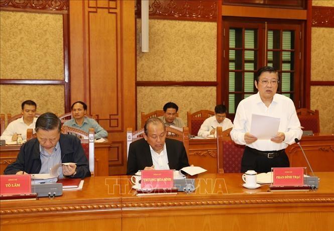 Tổng Bí thư, Chủ tịch nước chủ trì họp Thường trực Ban Chỉ đạo Trung ương về phòng, chống tham nhũng - ảnh 6
