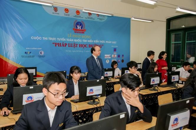 PV GAS đồng hành cùng Cuộc thi Kiến thức Pháp luật toàn quốc - ảnh 3