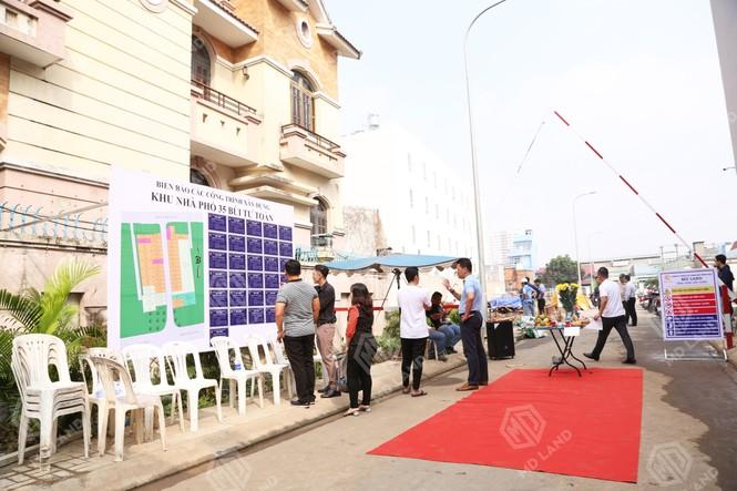 Khởi công khu nhà ở 35 Bùi Tư Toàn quận Bình Tân - ảnh 1