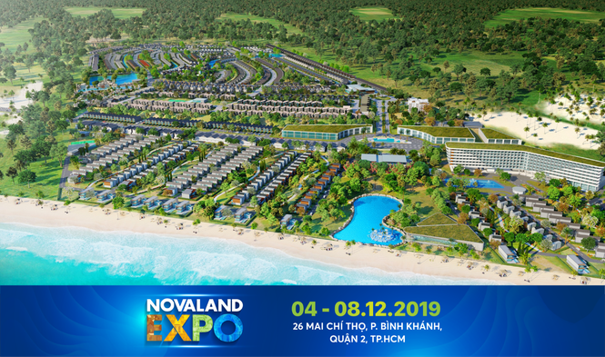 Khách hàng nóng lòng chờ cơ hội đầu tư tại Novaland Expo 2019 - ảnh 1