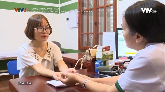 Bác sĩ Lệ Quyên chia sẻ giải pháp điều trị vảy nến, viêm da cơ địa trên VTV2 - ảnh 1