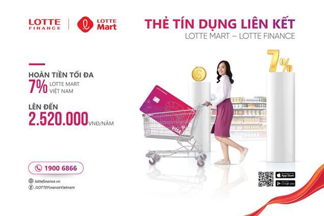 Ưu đãi hoàn tiền lên tới 7% khi chi tiêu tại Lotte Mart - ảnh 2