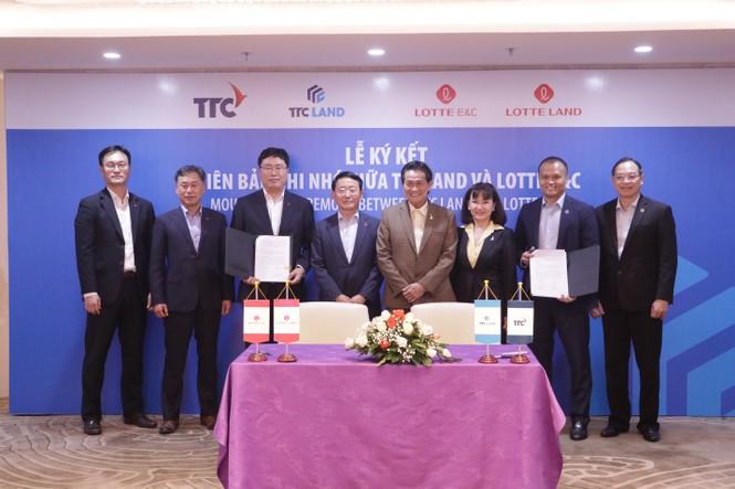 Lotte E&C sẽ đầu tư 100 triệu USD cùng TTC Land phát triển dự án - ảnh 1