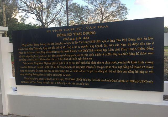 Đồng hồ trăm tuổi lạ nhất Việt Nam, bị 'bỏ quên' ở Bạc Liêu - ảnh 3