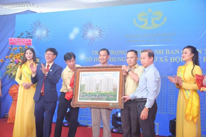 Khánh thành dự án HQC Plaza – Tổ hợp chung cư nhà ở xã hội quy mô lớn nhất TP.HC - ảnh 1