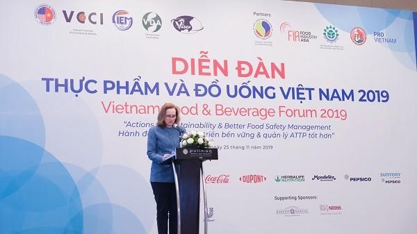 Hành động vì sự phát triển bền vững và quản lý an toàn thực phẩm - ảnh 1