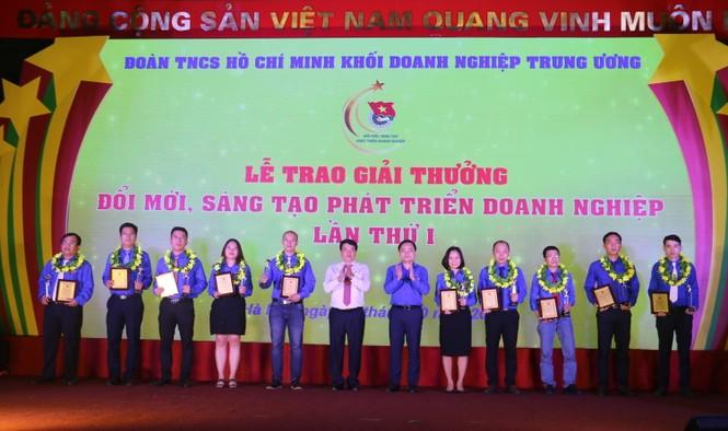 Công trình của tuổi trẻ PV GAS được trao giải thưởng - ảnh 1