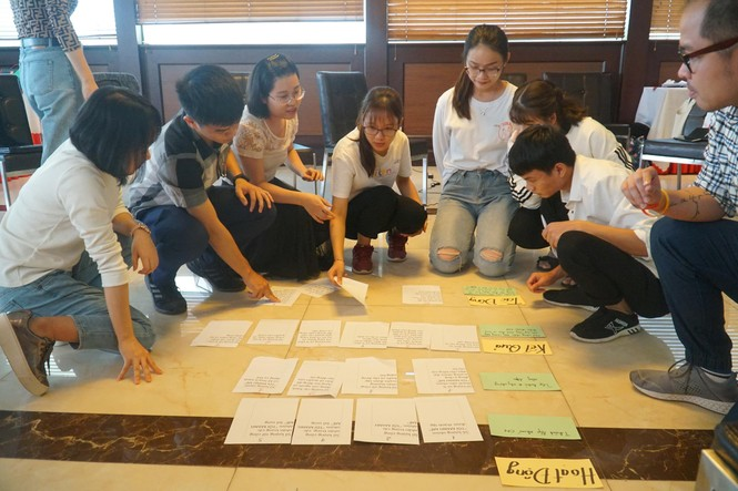 Sinh viên DynaGen tham gia tập huấn về đánh giá, giám sát 'Tôi mạnh mẽ' buổi 2 - ảnh 2