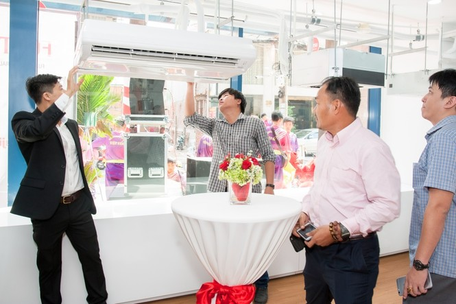 Máy điều hòa Fujitsu khai trương Showroom tại Việt Nam  - ảnh 4