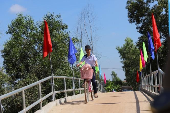 VWS hỗ trợ xây cầu giao thông nông thôn ở Long An - ảnh 3