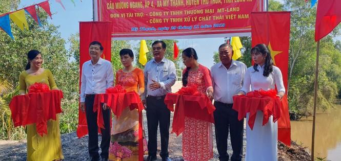 VWS hỗ trợ xây cầu giao thông nông thôn ở Long An - ảnh 5