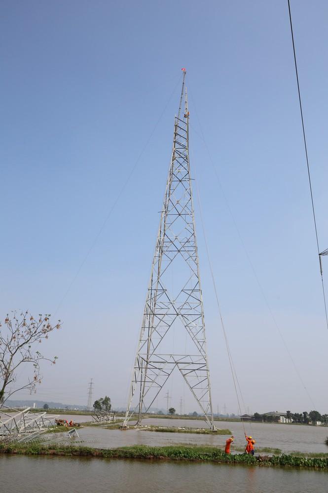 Đường dây 500kV Thường Tín – Tây Hà Nội: Chờ gỡ nút thắt giải phóng mặt bằng - ảnh 1