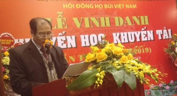 Cộng đồng họ Bùi Việt Nam: Vinh danh khuyến học, khuyến tài năm 2019 - ảnh 2