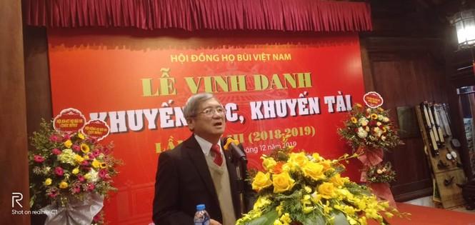 Cộng đồng họ Bùi Việt Nam: Vinh danh khuyến học, khuyến tài năm 2019 - ảnh 3
