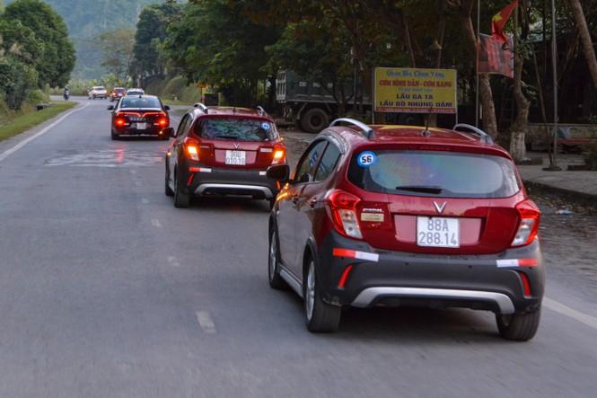 Chủ xe Vinfast chinh phục Hà Giang: Không mệt mỏi sau ngày đầu leo đèo - ảnh 5