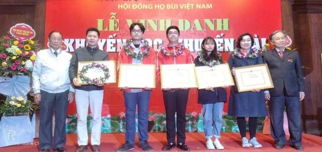 Cộng đồng họ Bùi Việt Nam: Vinh danh khuyến học, khuyến tài năm 2019 - ảnh 8