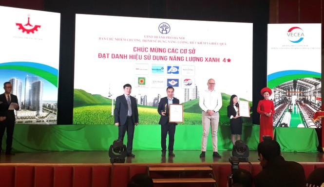 MM Mega Market Thăng Long đạt danh hiệu Năng lượng Xanh Hà Nội 2019 - ảnh 1