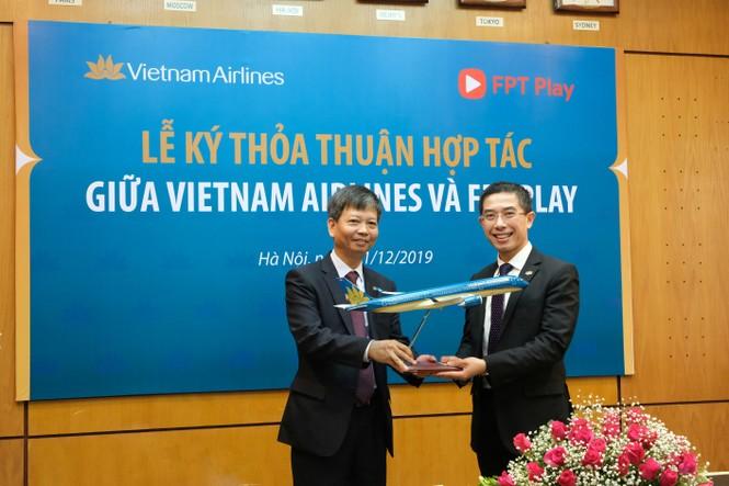 Triển khai ứng dụng FPT Play trên chuyến bay nội địa của Vietnam Airlines - ảnh 1