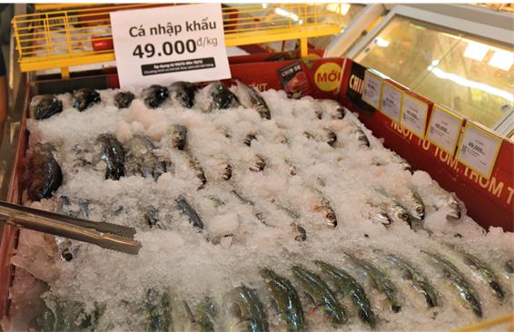 Thịt đội giá, bà nội trợ đổ xô đến Bách Hóa Xanh săn cá nhập khẩu 49k - ảnh 2