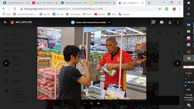 Sữa tươi Ogranic của Vinamilk 'bắt sóng' người tiêu dùng Singapore - ảnh 1