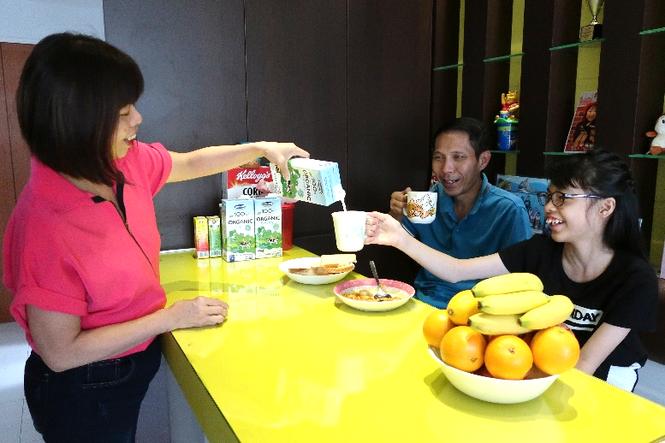 Sữa tươi Ogranic của Vinamilk 'bắt sóng' người tiêu dùng Singapore - ảnh 5