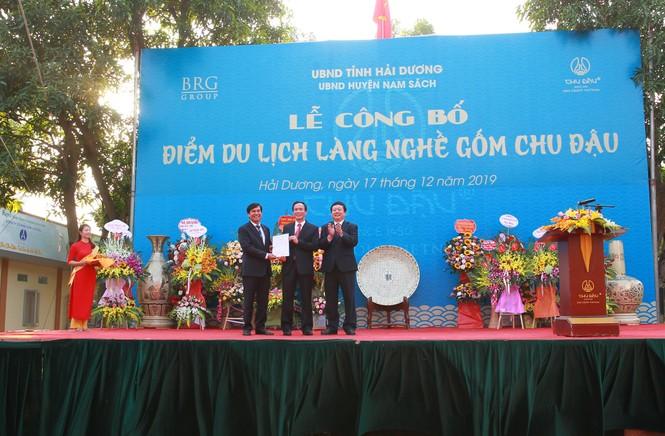 Gốm Chu Đậu trở thành Điểm du lịch làng nghề của Tỉnh Hải Dương  - ảnh 1