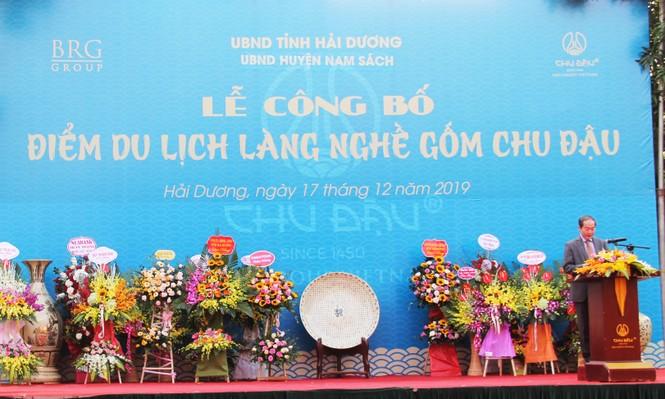 Gốm Chu Đậu trở thành Điểm du lịch làng nghề của Tỉnh Hải Dương  - ảnh 2
