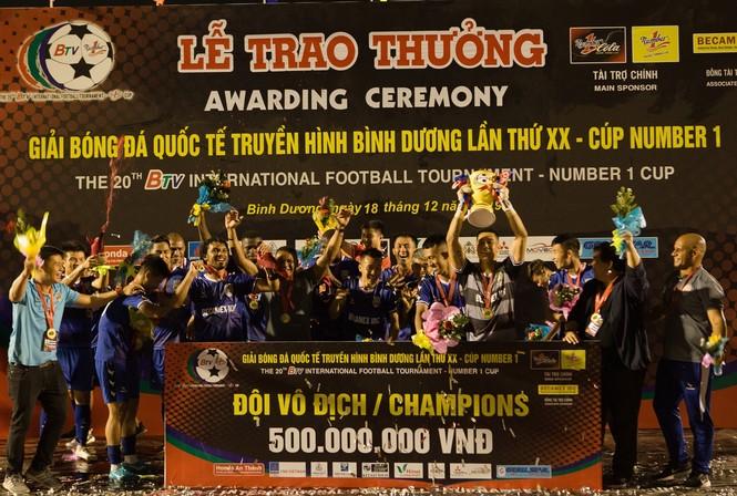 CLB B.Bình Dương giành chức vô địch Giải bóng đá Quốc tế Cúp Number 1  - ảnh 2