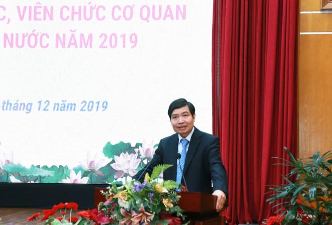 Kho bạc Nhà nước tổ chức Hội nghị công chức, viên chức cơ quan KBNN năm 2019 - ảnh 2