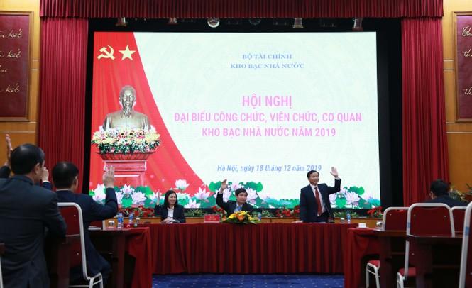 Kho bạc Nhà nước tổ chức Hội nghị công chức, viên chức cơ quan KBNN năm 2019 - ảnh 3