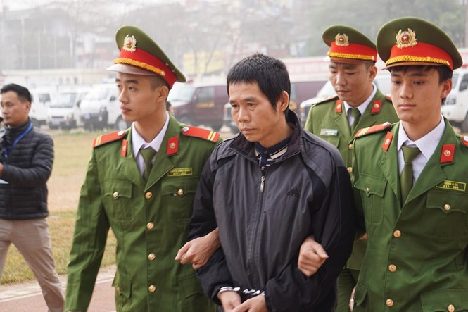 Cận cảnh 9 bị cáo liên quan vụ sát hại nữ sinh Điện Biên - ảnh 9