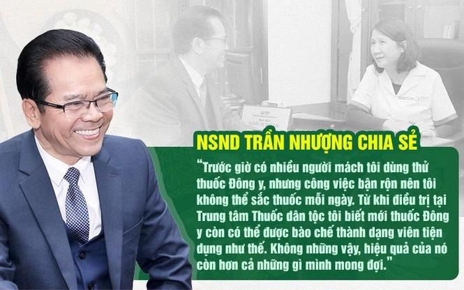 Thuốc dân tộc chữa khỏi bệnh dạ dày cho NSND Trần Nhượng - ảnh 4