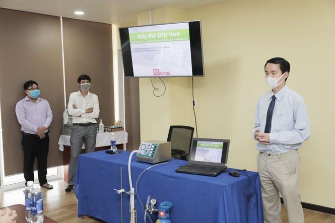Máy thở của ĐH Duy Tân (DTU-Vent) hứa hẹn giá thành không quá 20 triệu VND - ảnh 3