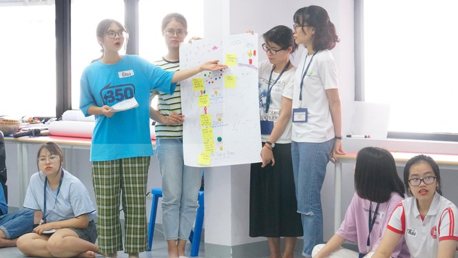 Thanh niên chủ động và tích cực với các sáng kiến về môi trường - ảnh 1