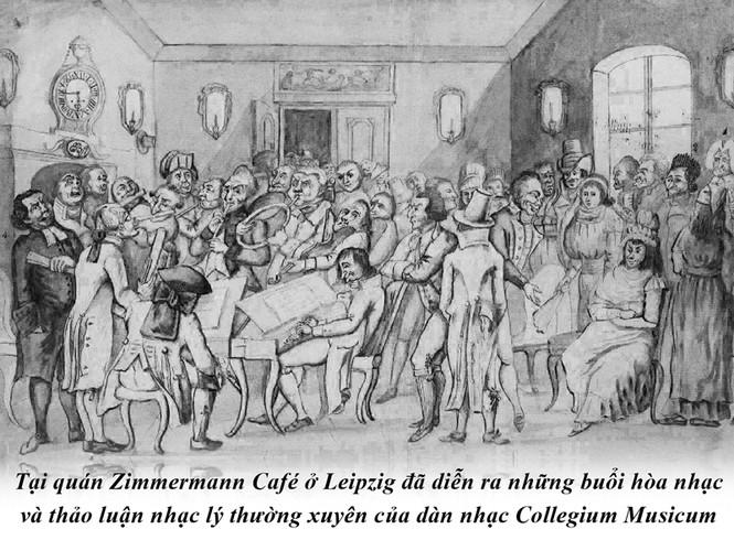 Kỳ 47: Cà phê trong tiến trình thăng hoa âm nhạc của Johann Sebastian Bach  - ảnh 3