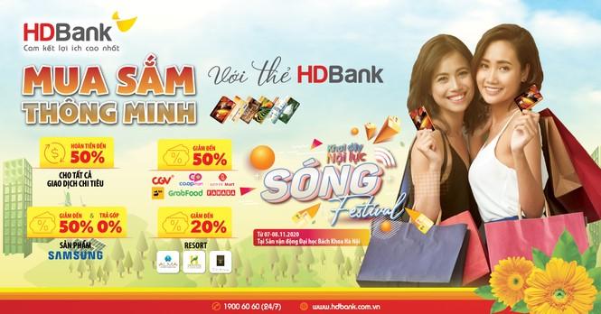 HDBank tung chuỗi ưu đãi siêu hấp dẫn hưởng ứng Ngày Thẻ Việt Nam 2020 - ảnh 2