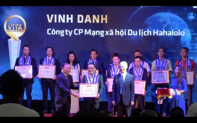 """MXH Hahalolo vinh dự nhận giải thưởng """"Công ty có sản phẩm công nghệ phục vụ khách du lịch - ảnh 3"""