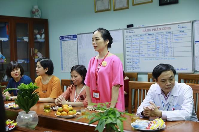 ABBank trao tặng khu vui chơi cho bệnh nhi tại bệnh viện nhi TW Hà Nội - ảnh 1
