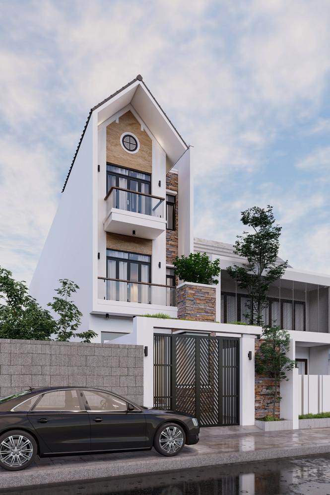 Mẫu thiết kế nhà đẹp theo phong cách hiện đại - ảnh 3