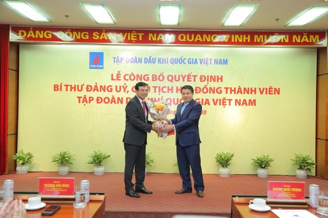 Trao quyết định cho Chủ tịch HĐQT PVN Hoàng Quốc Vượng - ảnh 1