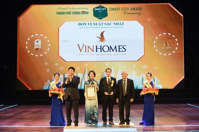 Vinhomes Ocean Park đạt giải thưởng danh giá nhất của 'Thành phố thông minh 2020' - ảnh 1