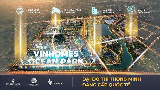 Vinhomes Ocean Park đạt giải thưởng danh giá nhất của 'Thành phố thông minh 2020' - ảnh 2