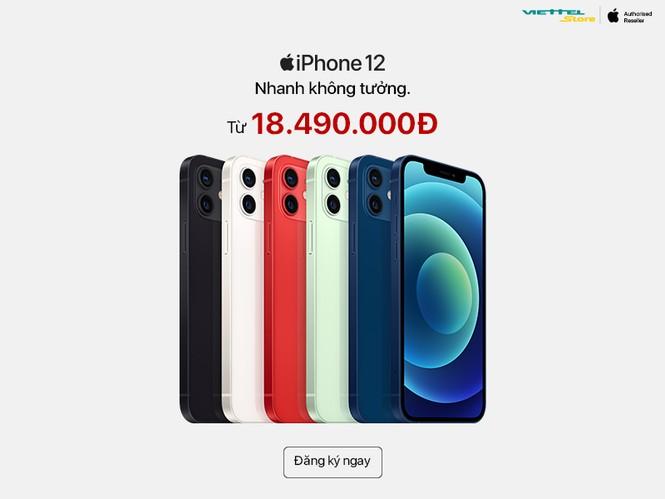 Chỉ còn 1 ngày đặt trước iPhone 12 giá ưu đãi và nhận 50GB iCloud tại Viettel Store - ảnh 1