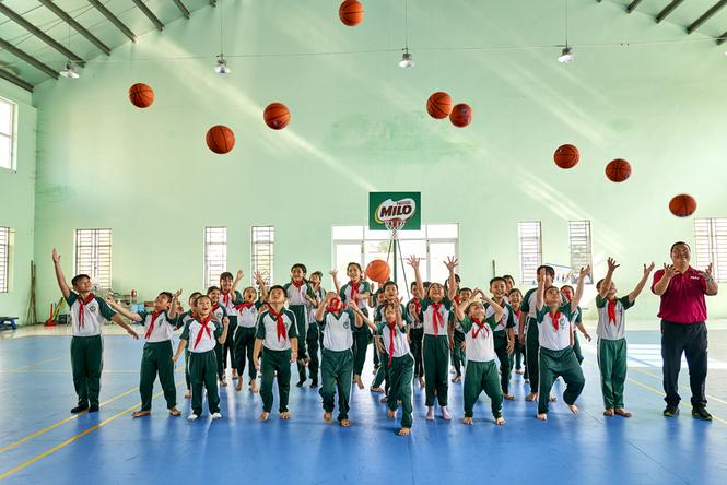 Nestlé MILO truyền cảm hứng thể thao cho hàng ngàn học sinh Cần Thơ - ảnh 4