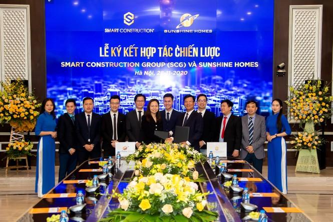 Smart Construction Group (SCG) ký hợp tác chiến lược với Sunshine Homes - ảnh 1
