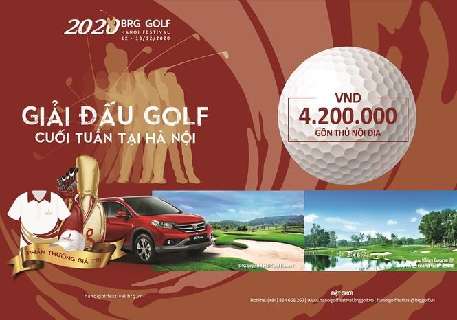 BRG Golf Hà Nội Festival chuẩn bị khởi tranh mùa giải 2020 - ảnh 1