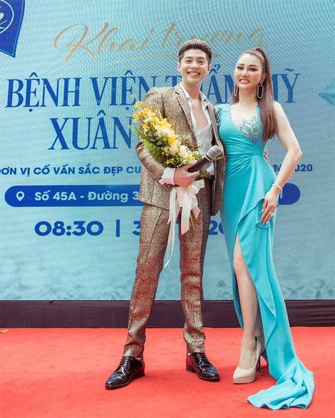 Noo Phước Thịnh cùng dàn mỹ nhân Vbiz hội tụ tại đại tiệc thẩm mỹ ở Tp.HCM - ảnh 1